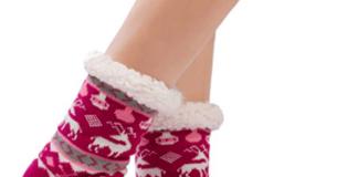 Kuschelsocken Weihnachten